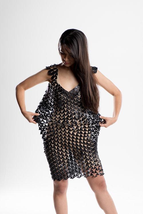 3D Printed Dress LOOM