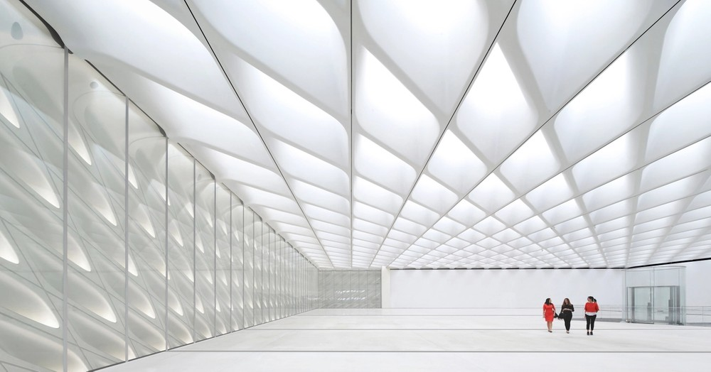 The Broad Museum By Diller Scofidio Renfro Parametric