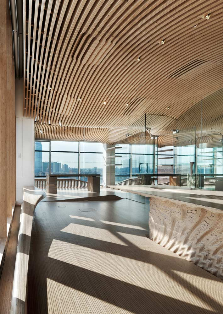 One Main Office Renovation by dECOi Architects - Parametric