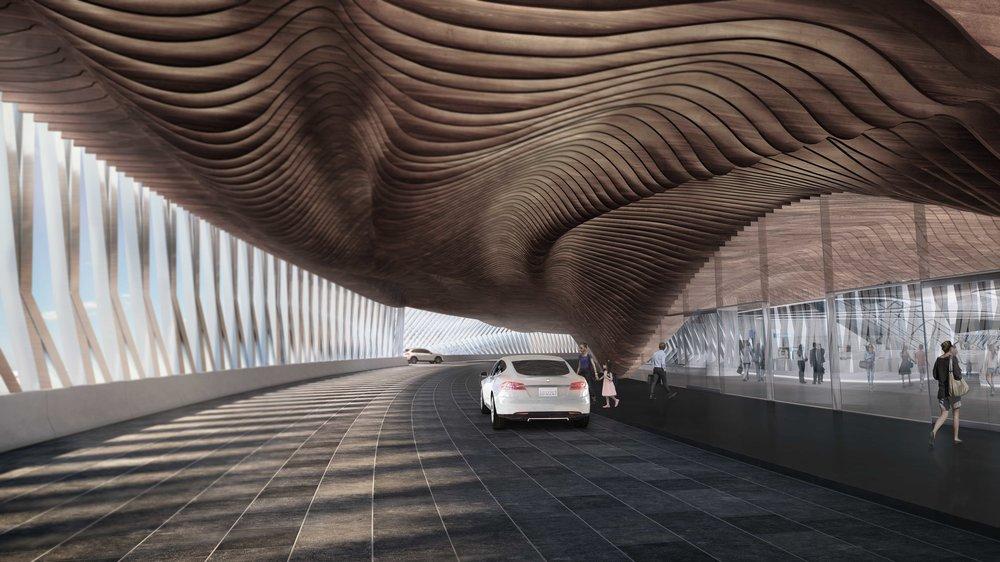 Hyperloop Abu Dhabi Station