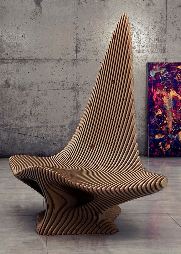 Scate Chair By After Form Parametricarchitecture