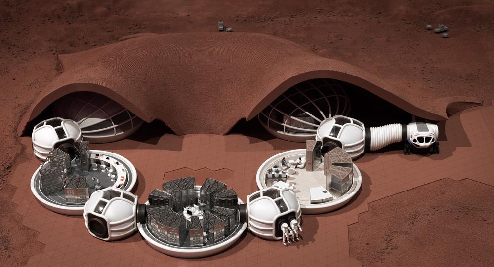 Hassell's Mars Settlement