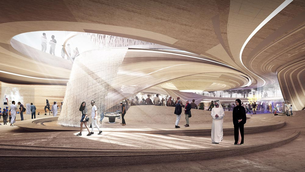 10 Design Reveals a Wall-Less Experience For An Expo Pavilion