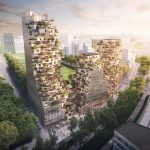 MVRDV's High Rise Ravel Plaza Complex Features Green Galore In Amsterdam