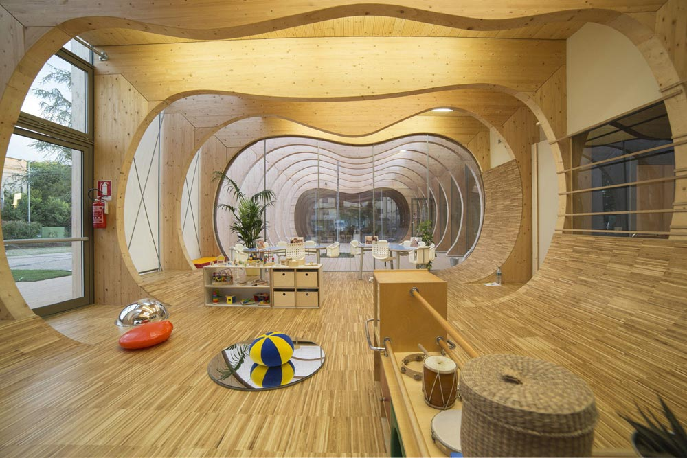 Mario Cucinella's Stimulating Kindergarten In Italy