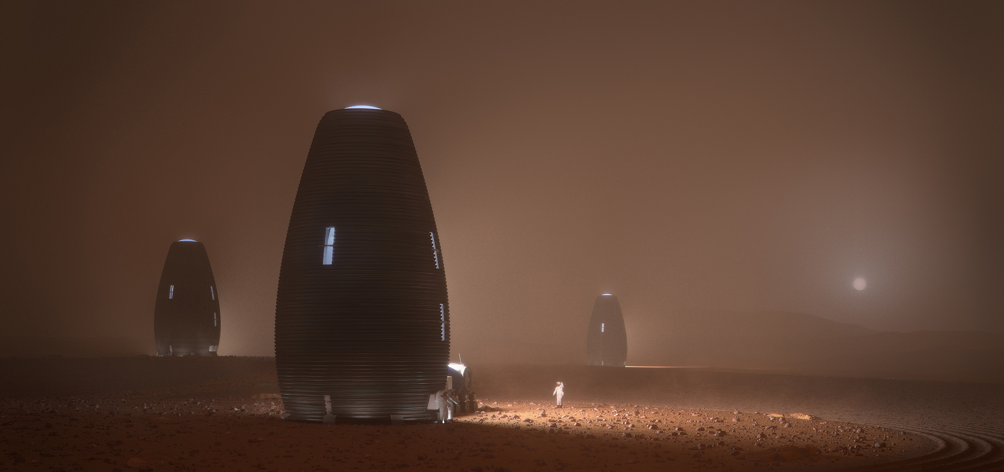 Architecture on Mars © Ai Space Factory