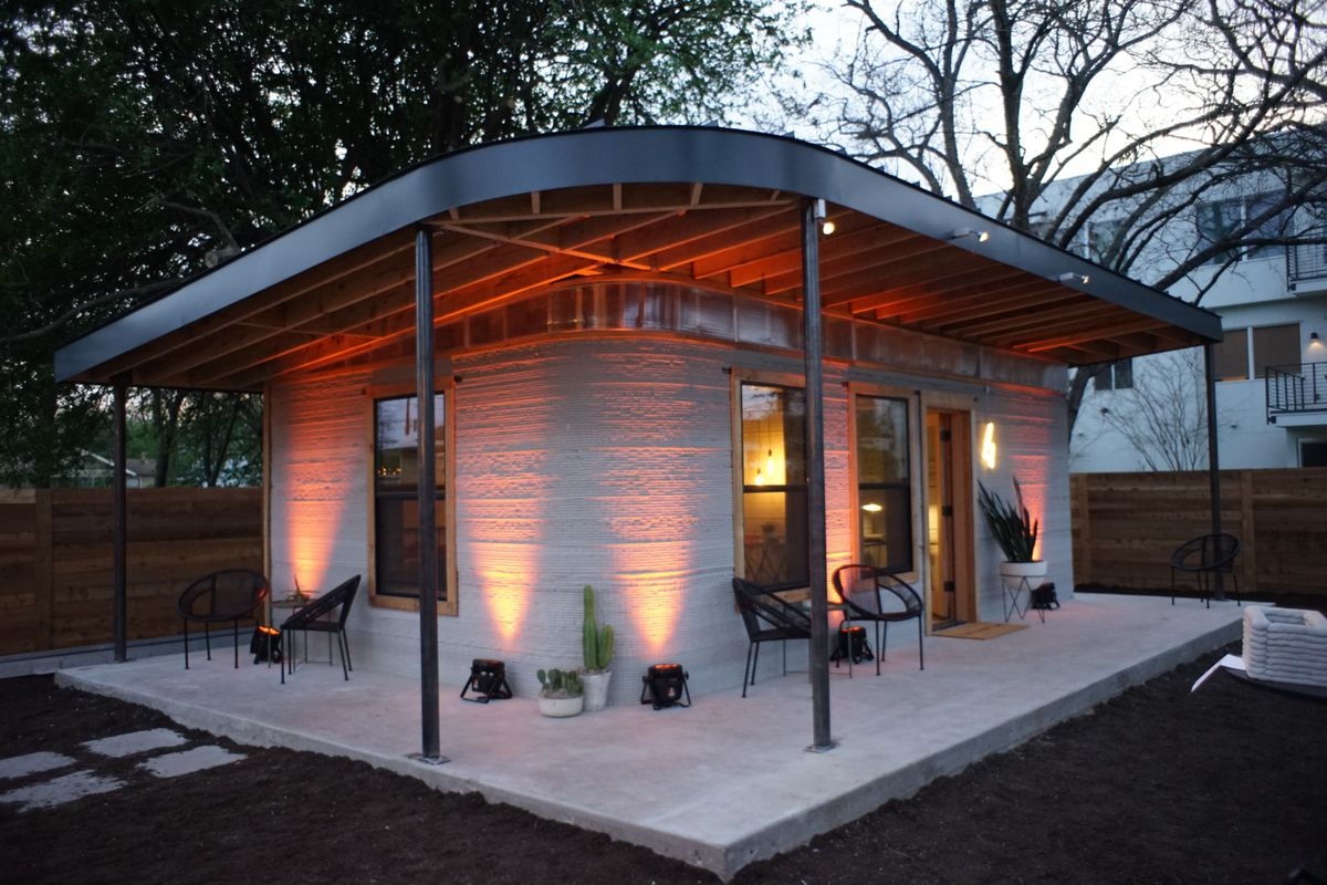 3D Printed Homes in Texas By ICON