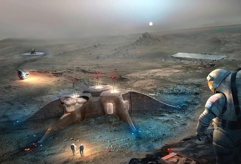 Architecture on Mars