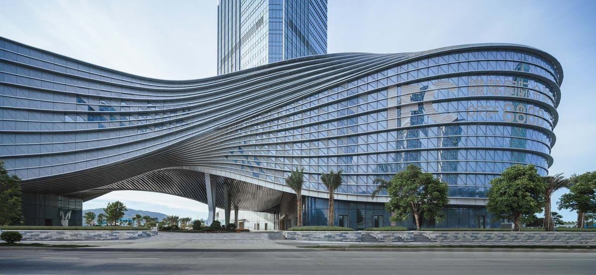 Hengqin International Financial Center by AEDAS - ParametricArchitecture