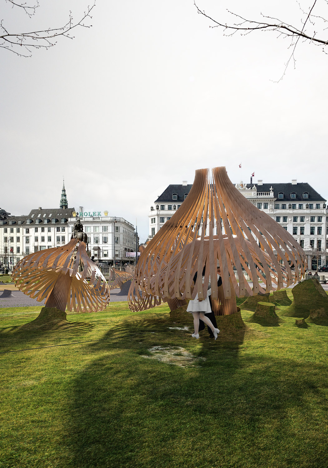Fungus Among Us - Eco-Parametric Structures
