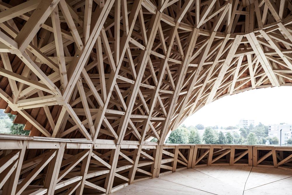 Shingled Timber Pavilion