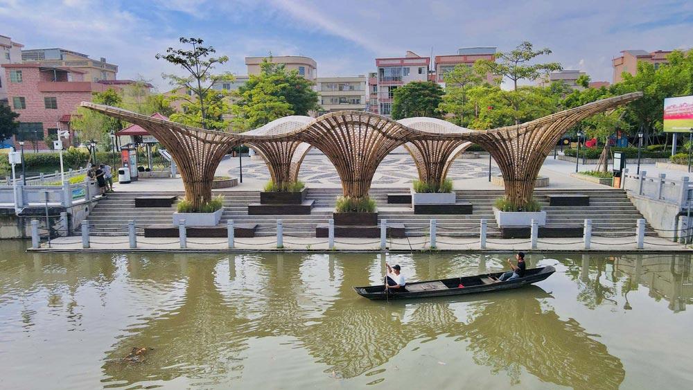 Huanglong Waterfront Bamboo Pavilion