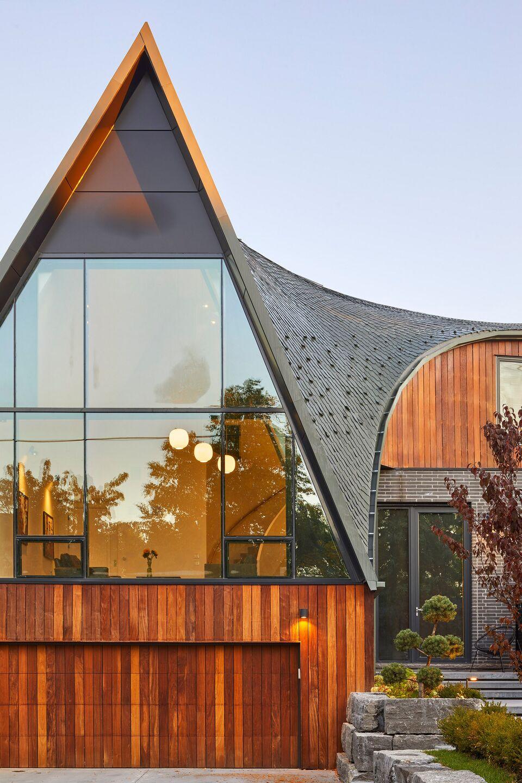 Bezier Curve House
