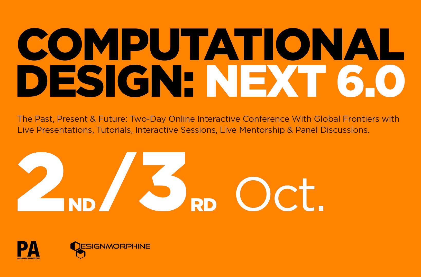 Computational Design: NEXT 6.0